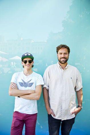 DJ-DUO: Ketil Jansen og Ulrik Denizou Lund i Lemaitre - et av flere internasjonale toppnavn fra den blomstrende norske elektronika-scenen som pågår i USA.