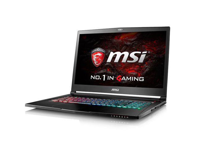 MSI GS73VR Stealth. Foto: MSi