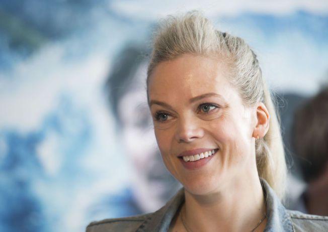 ADRENALIN-JUNKIE: Ane Dahl Torp synes det aller morsomste med innspillingen av Bølgen var da hun kunne skli på vannet i korridorene.