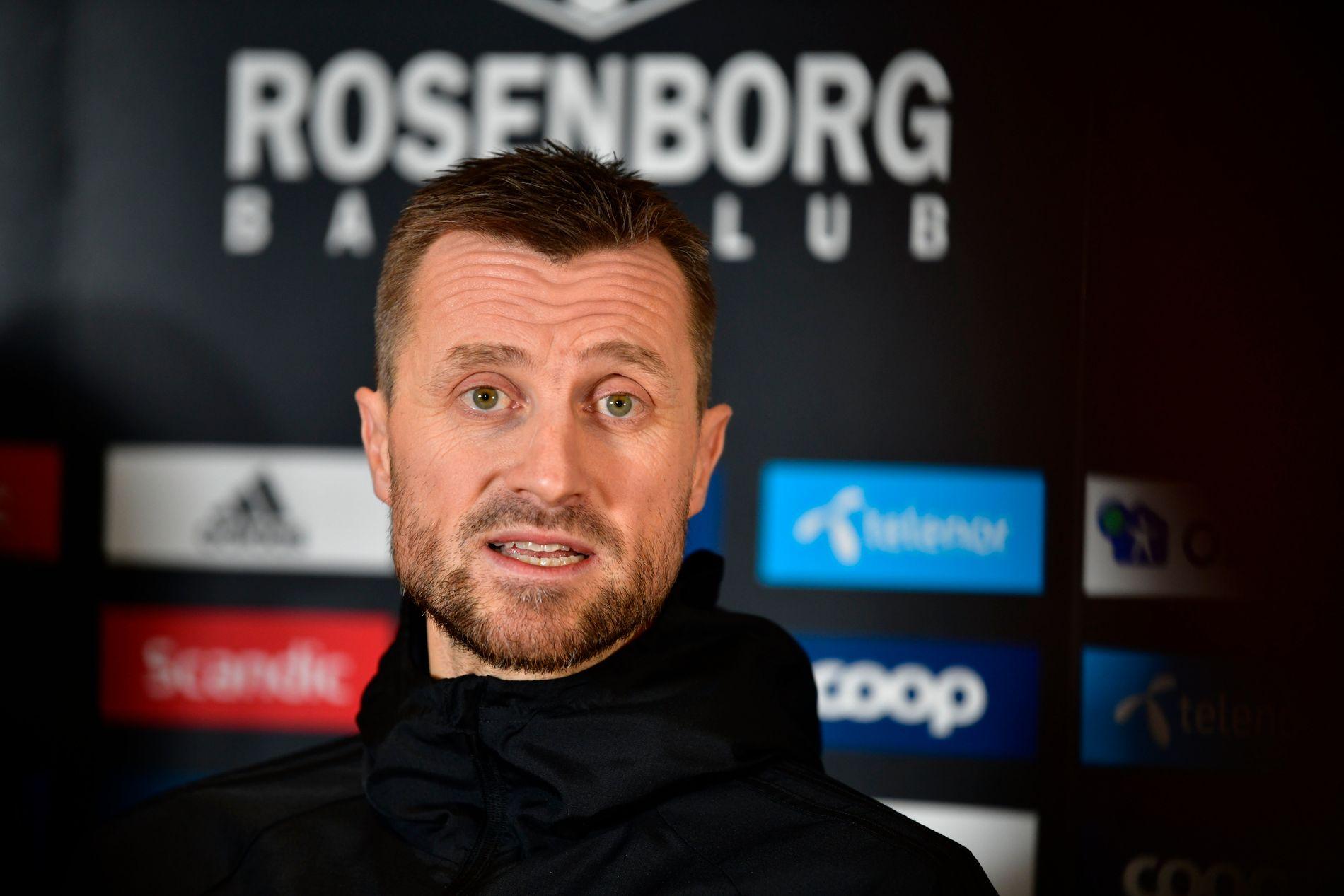 ROSENBORG-BOSS: Eirik Horneland.