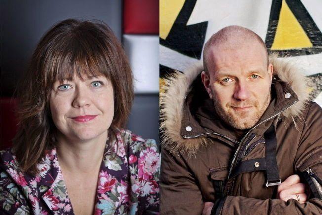 NOMINERTE: Lene Kongsvik Johansen og Bård Tufte Johansen er begge nominerte til flere priser under årets Komiprisen.