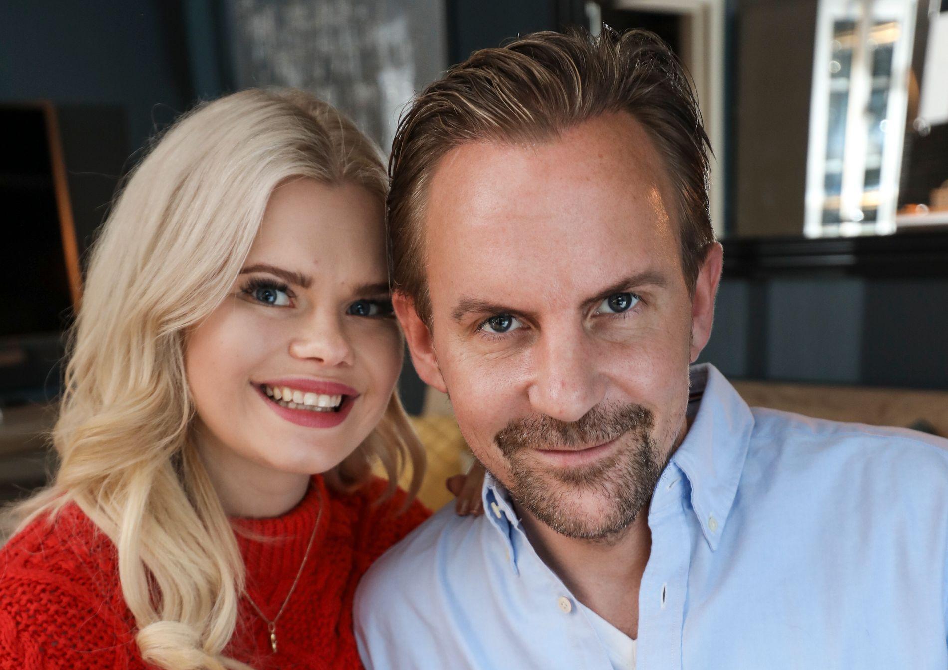 ENDELIG FORELDRE: Julianne og Ulrik Nygård ble nylig foreldre til lille Severin. Under TV 2s høstlansering i Bergen hadde de barnefri for første gang.