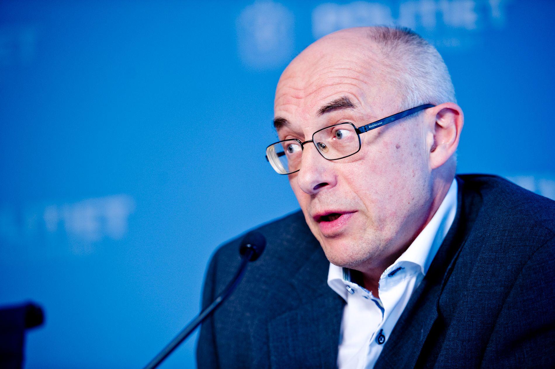 GIKK AV: Administrerende direktør i Mattilsynet, Harald Gjein.