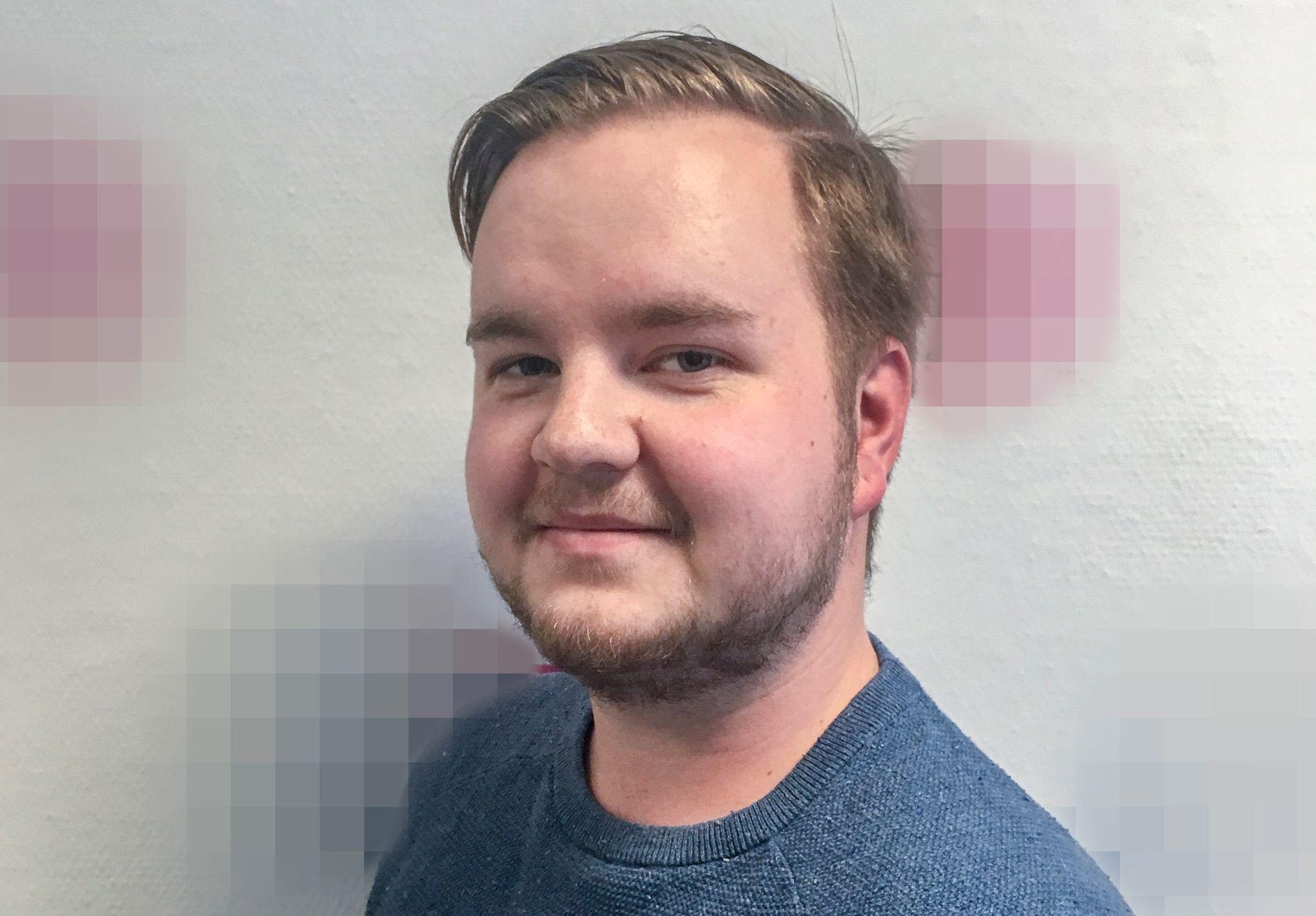 DREPT: 24 år gamle Heikki Paltto fra Mysen i Østfold ble funnet av en av romkameratene i kollektivet.