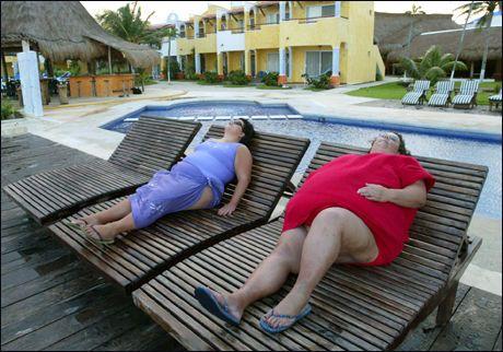 Nyt livet, selv om du er overvektig. Da får du bedre helse, viser ny forskning Foto: Thomas Nilsson