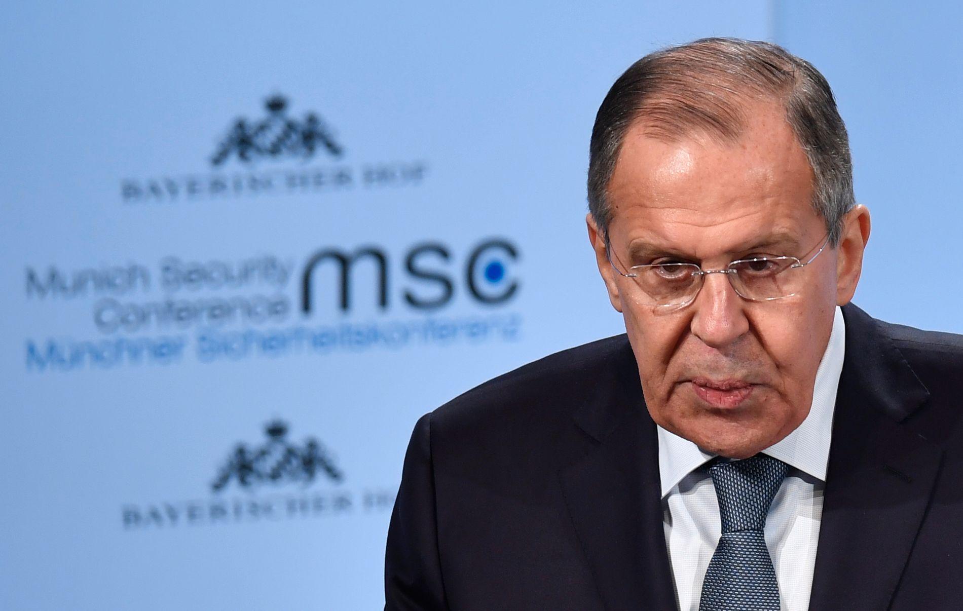 ADVARSLER: Russlands utenriksminister uttrykte seg gjentatte ganger kritisk til det han mener er en «dem og oss»-retorikk som skapes i Vesten.