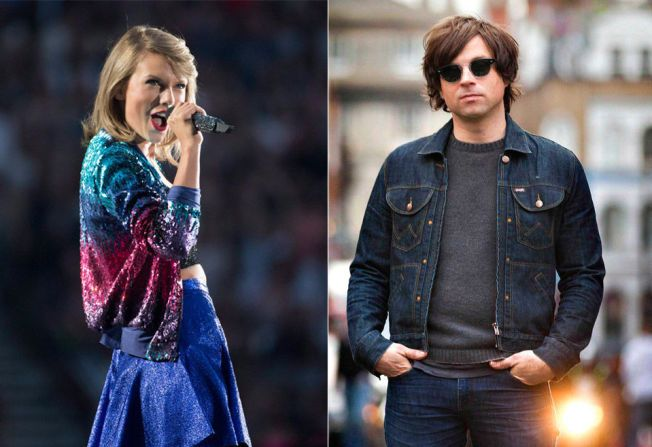 Taylor Swift, Ryan Adams.