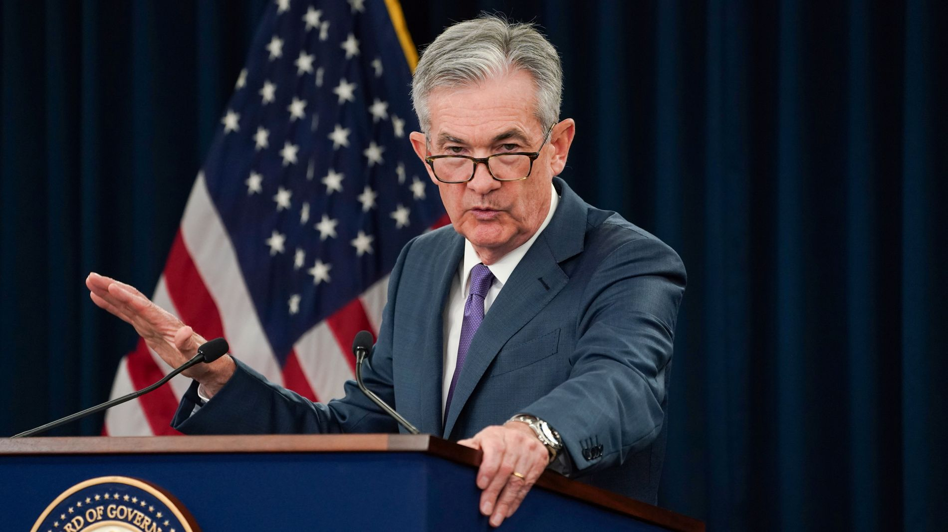 HAR SNUDD: Etter mange år med stigende rente, har den amerikanske sentralbanksjefen Jerome Powell den siste tiden hintet om opptil flere kutt.