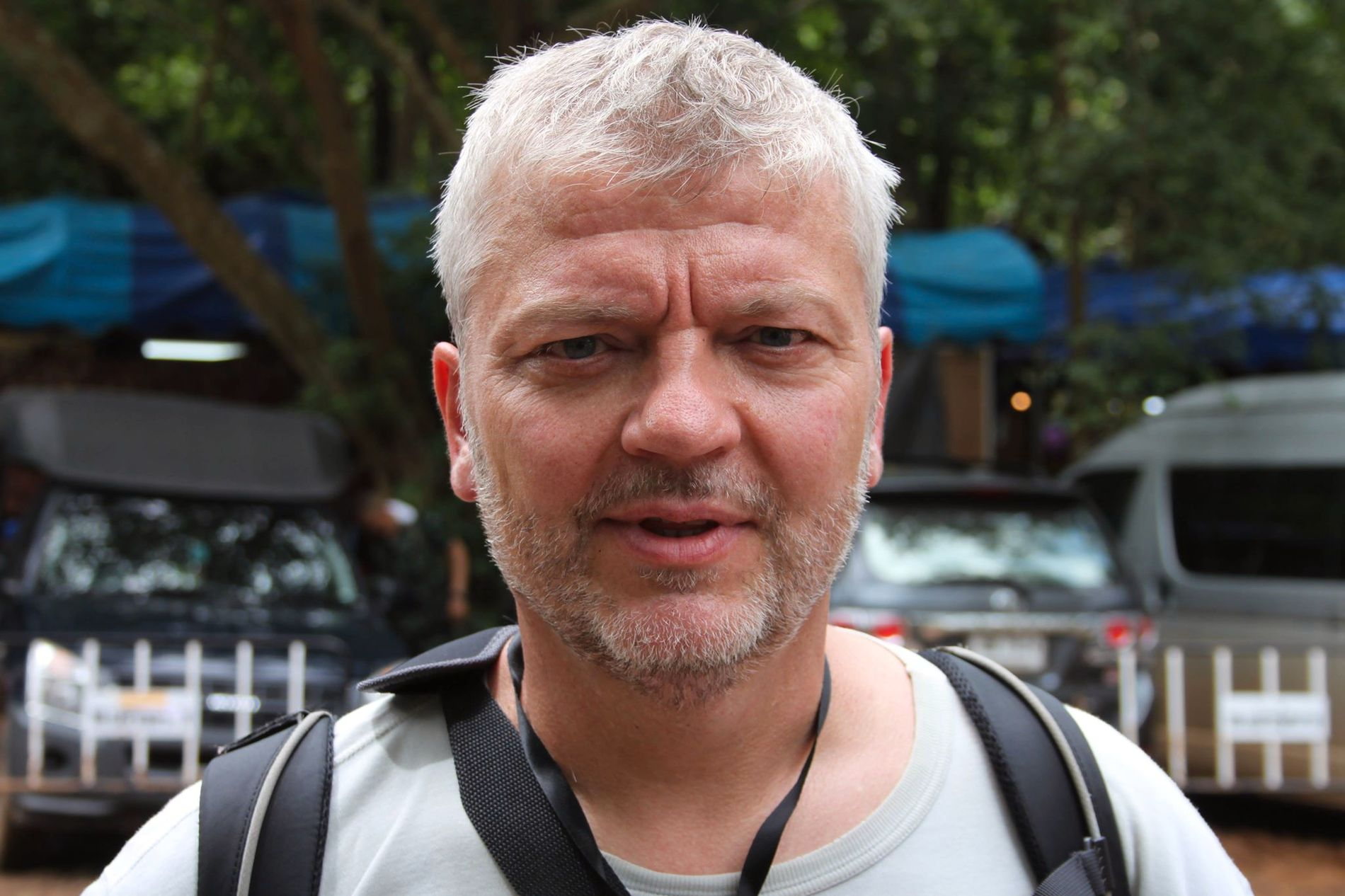 I THAILAND:  VGs reporter Georg Mevold