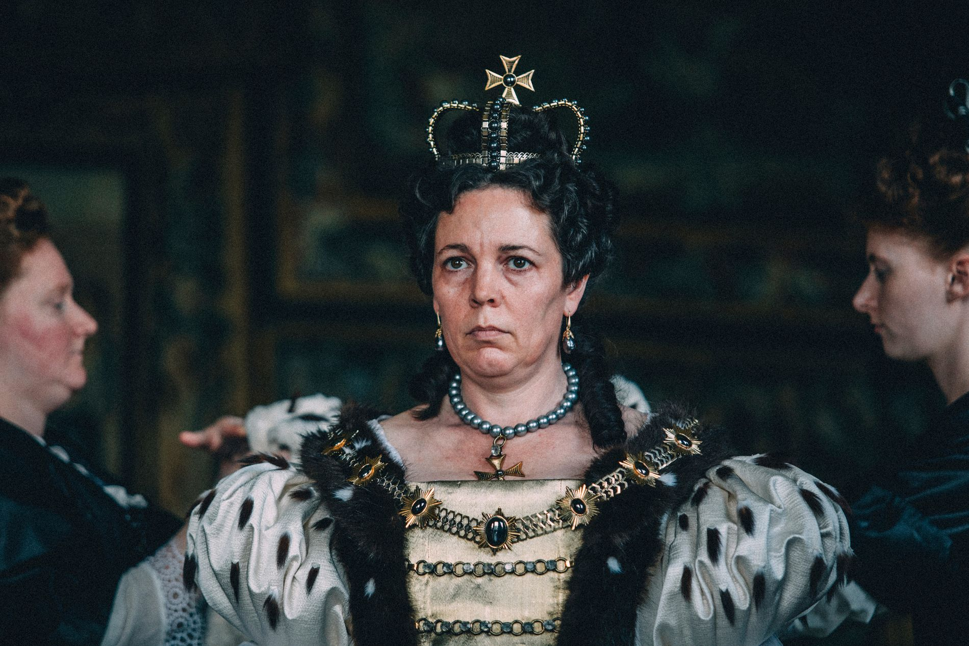 KAN VINNE:  Olivia Colman i «The Favourite».