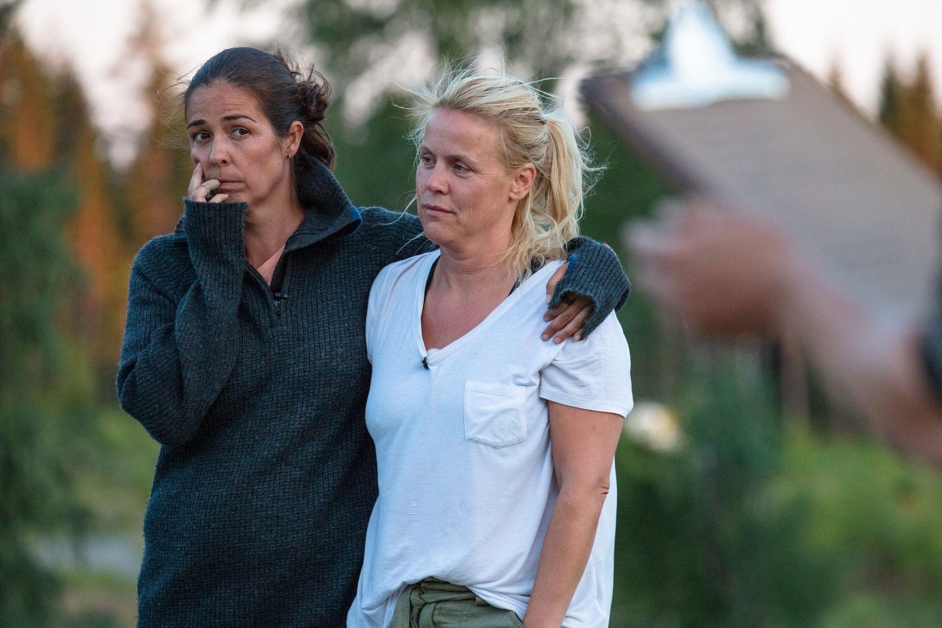 SNIPP, SNAPP, SNUTE: Både Mina Hadjian og Johanna Grønneberg er ute av «Farmen kjendis». De er også Martine Lunde.