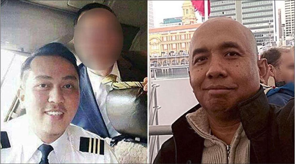 PILOTENE: Fariq Abdul Hamid (venstre) og Zaharie Ahmad Shah (høyre) var piloter på flight MH370 som forsvant fra radarene 8. mars. Det siste som ble sagt fra MH370 var «Good night Malaysian three seven zero», men det er foreløpig uklart om det var Hamid eller Shah som snakket. Foto: Rex / All Over Press