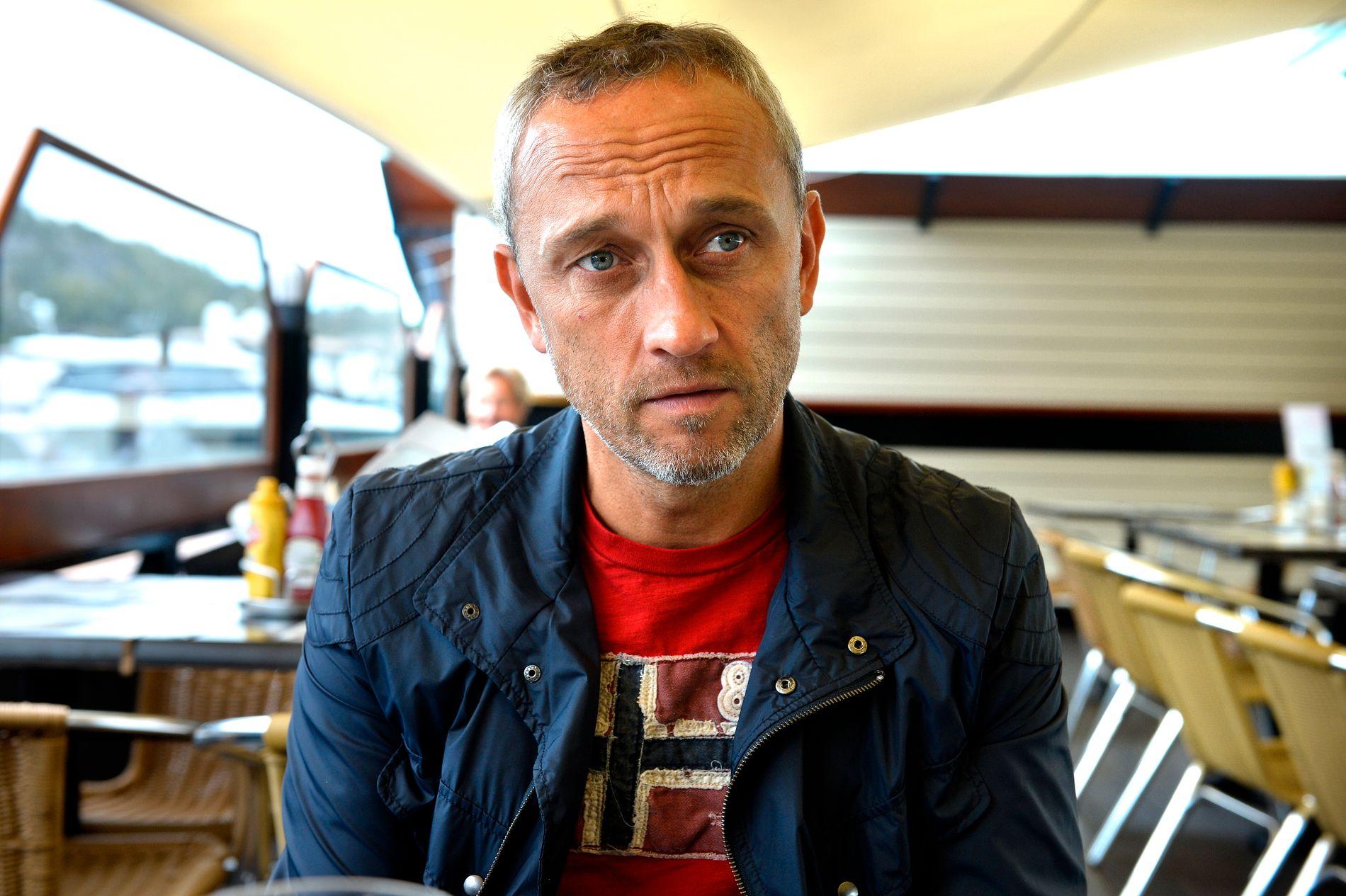 SA NEI: Lars Bohinen ville ikke spille mot Frankrike i 1995, av politiske årsaker.