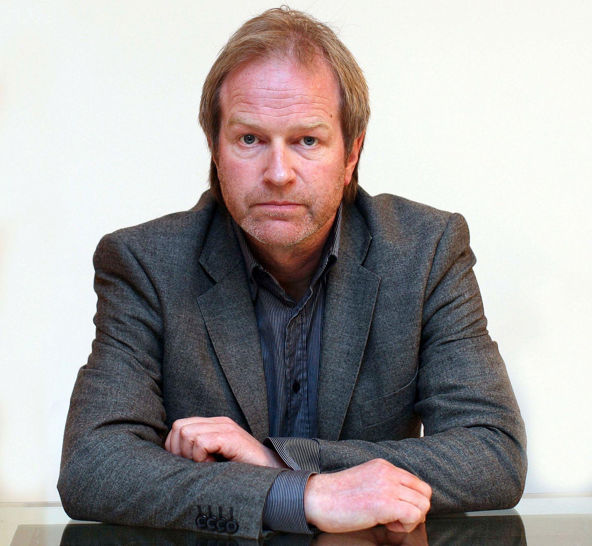 FOTBALLJOURNALIST: Knut Espen Svegaarden er landslagskommentator og fotballjournalist i VG.