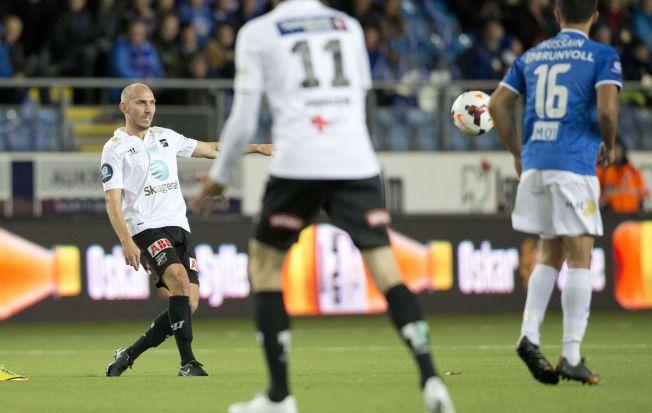 BEST AV DE BESTE: Jone Samuelsen spilte seg i dag til en sekser på VG-børsen.