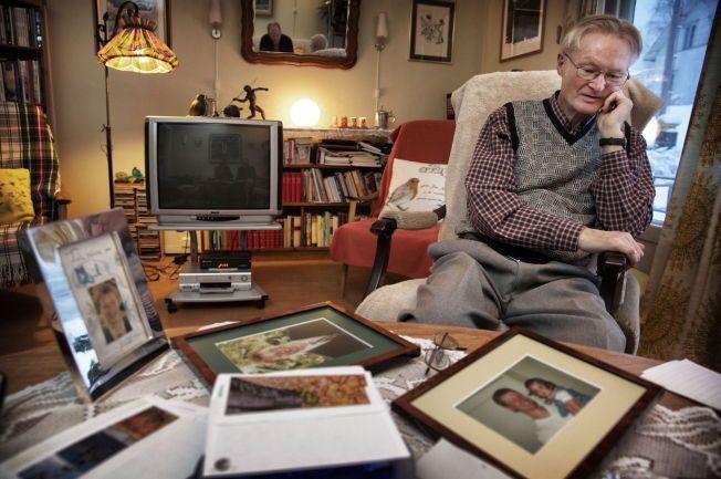 FAR: Steinar Bråten tok i mot VG i sitt hjem i Våler i Hedmark. Han mistet sønnen sin 18. november 2002.