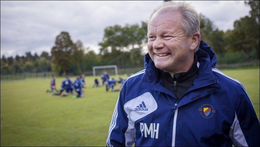 RYDDER I REKKENE: Per-Mathias Høgmo har allerede gjort store endringer i landslagets støtteapparat. Nå er assistenten på plass. Foto: Gustav Mårtensson