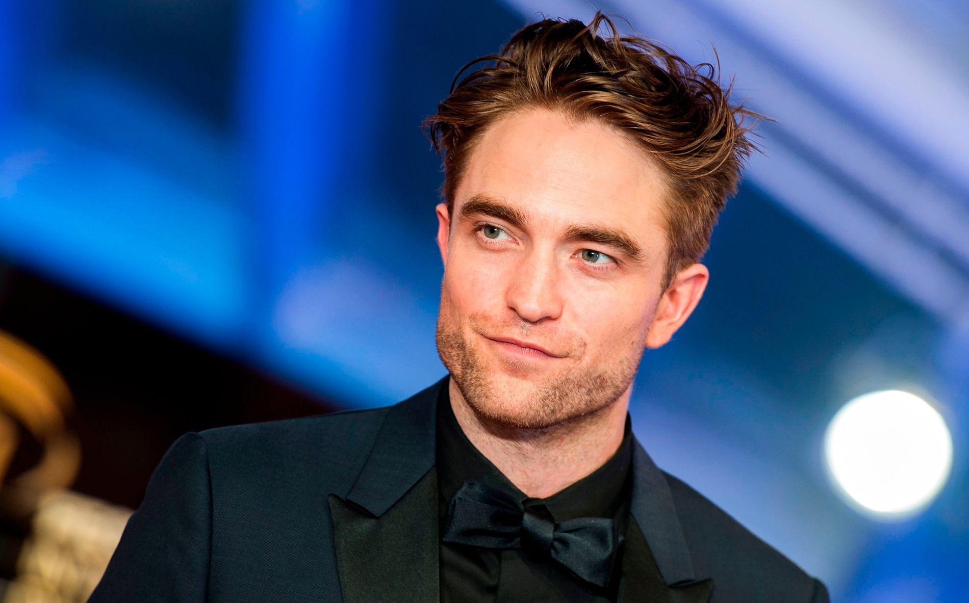 SUPERHELT: Robert Pattinson, her fotografert på feilmfestival i Marrakesh i november 2018.
