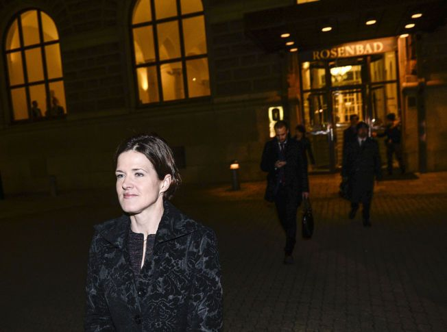 RUSTER SEG: Anna Kinberg Batra blir trolig  Löfvens hovedmotstander de neste årene.