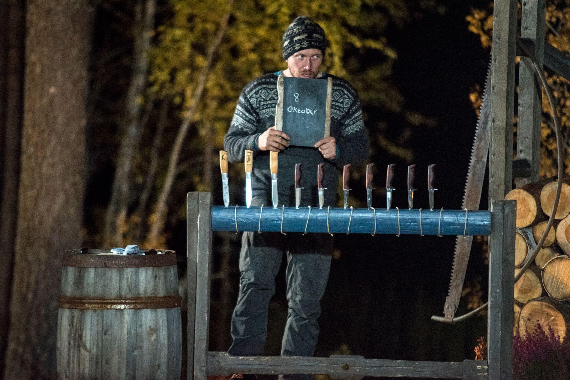 SVARTE FEIL:  Kjetil trodde 1. verdenskrig ble avsluttet 8. oktober. Tonje svarte riktig, 11. november, og vant med det «Farmen».