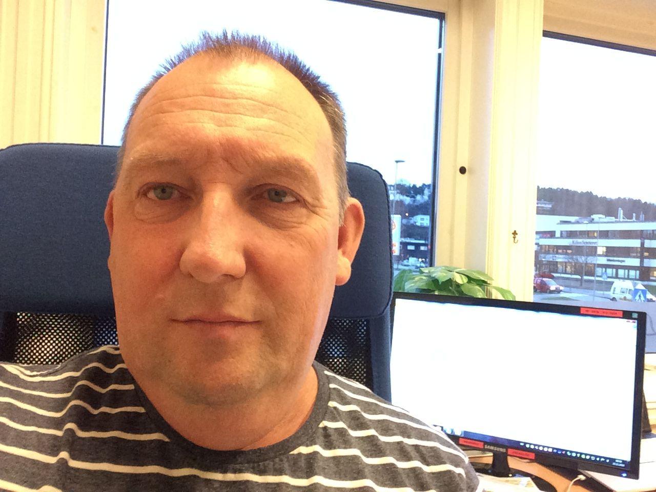 NJET: Per Harald Mathisen har ingen planer om å skaffe seg digital postkasse.