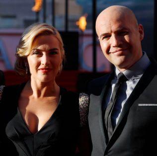GOD TONE: Kate Winslet og Billy Zane på premieren til «Titanic 3D» i London i 2012.