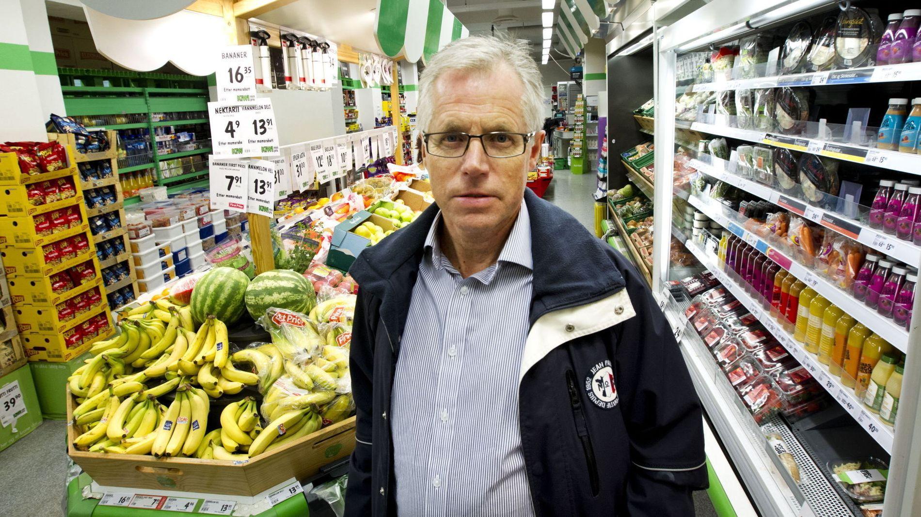 OFFENSIV: Kiwi-sjef Jan Paul Bjørkøy varsler full priskrig mot hovedkonkurrenten Rema 1000.