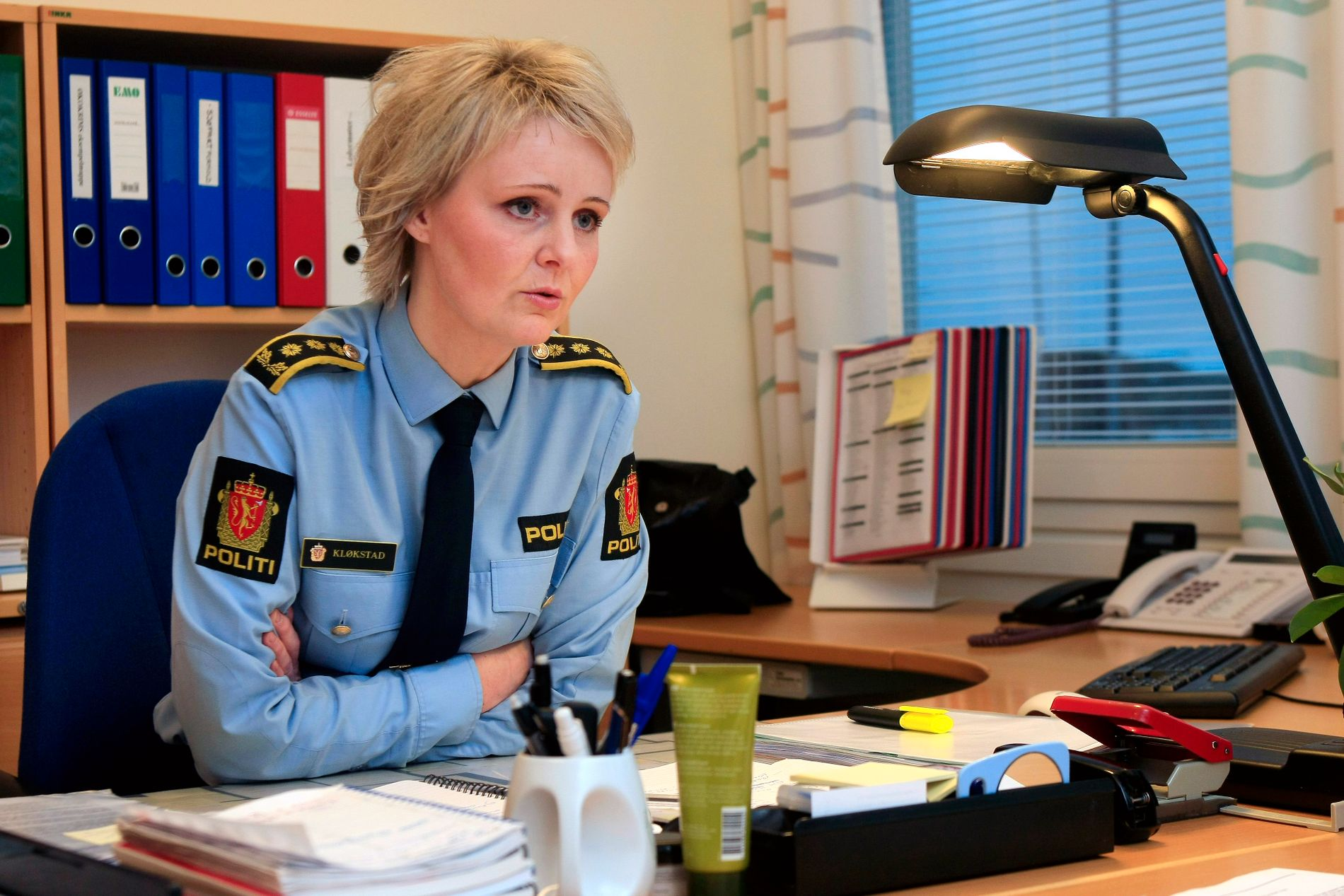 ANMELDT: Visepolitimester Heidi Kløkstad i politiet i Nordland opplyser at de har mottatt en anmeldelse mot en tidligere lensmann i Tysfjord.