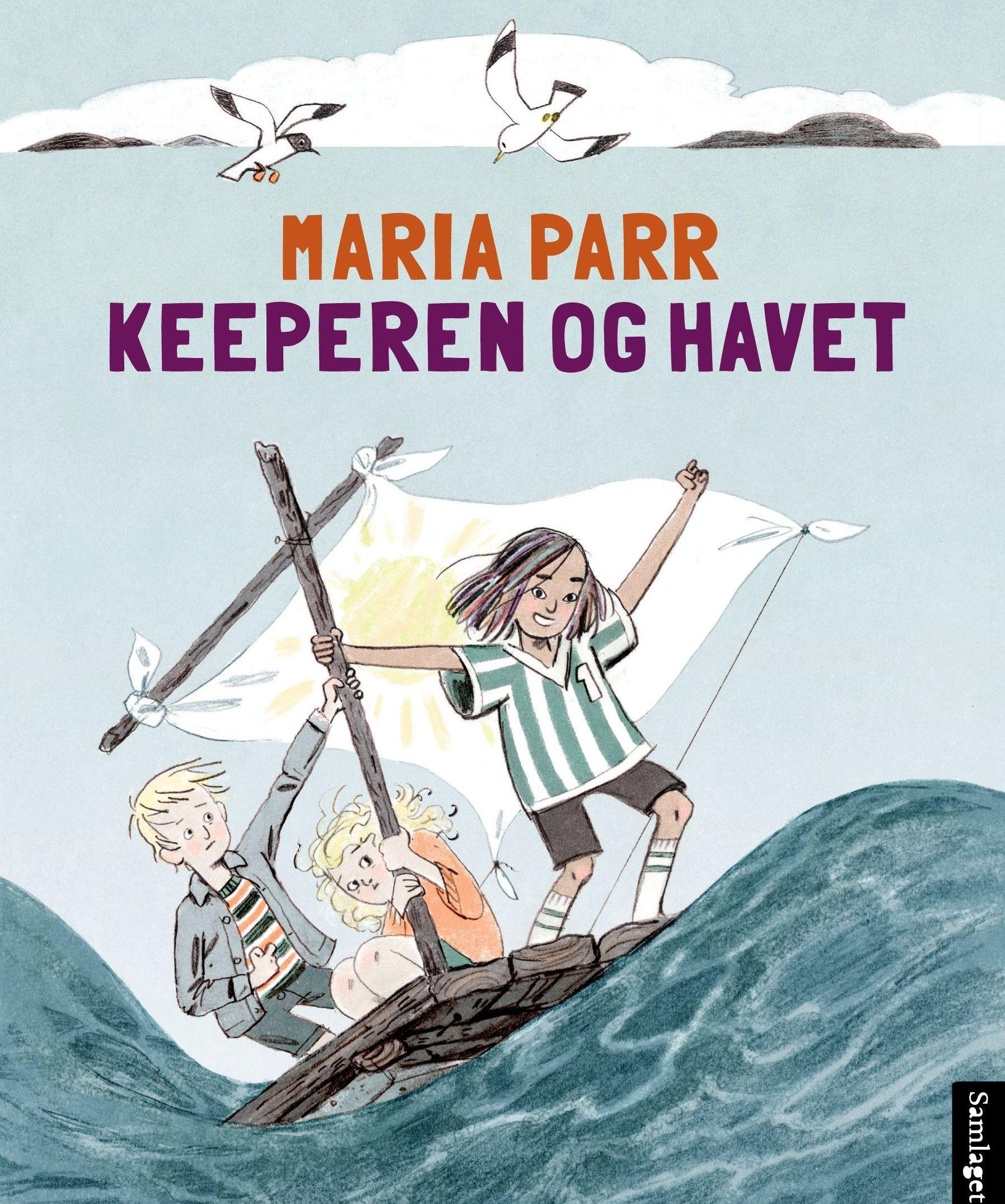 Vaffelhjarte-oppfølger: Maria Parr er en av forfatterne du kan møte på helgens barnebokfestival i Oslo. Her er hennes nye bok.