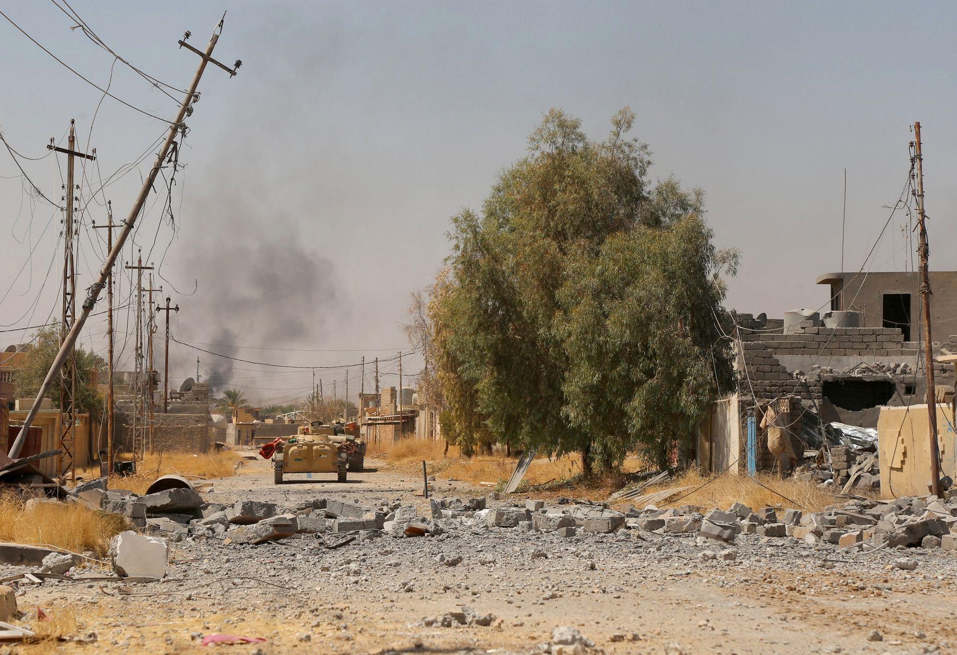 KRIGSHERJET OMRÅDE: Den svenske kvinnens mann skal ha blitt drept i Tal Afar, i nærheten av den irakiske byen Mosul, i 2016.