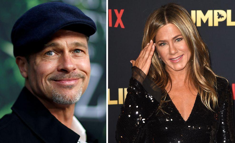 EKS-PAR: Brad Pitt og Jennifer Aniston har gjenopptatt kontakten.