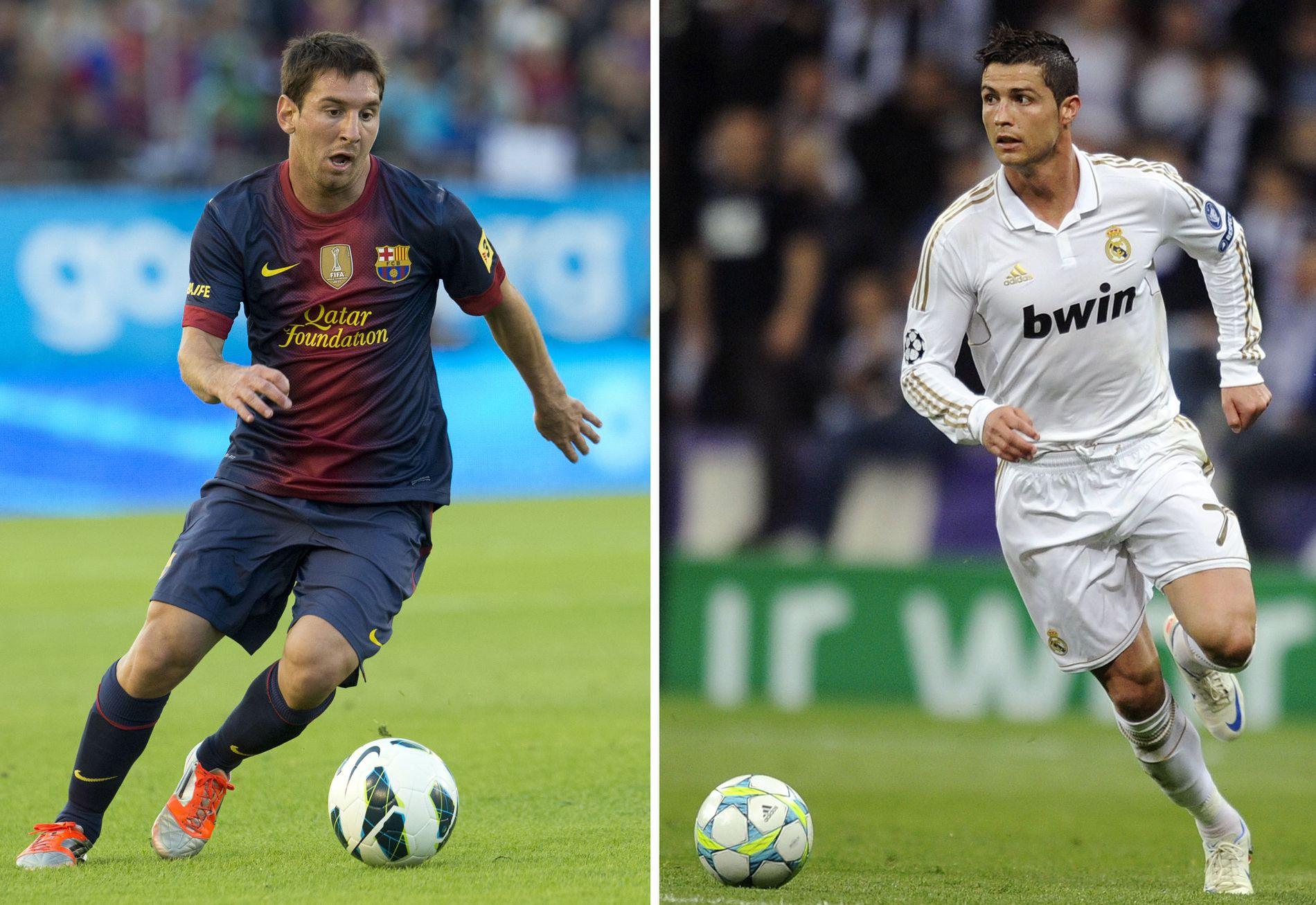 ET FANTASTISK RIVALERI: Lionel Messi (t.v.) og Cristiano Ronaldo konkurrerer om de fleste titler, men ingen av dem kan smykke seg med tittelen som verdens mest verdifulle, ifølge en ny studie.