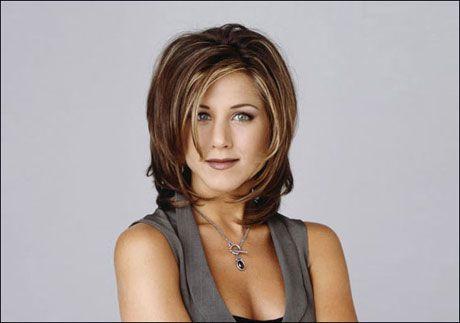 FØR: Slik ser den ut, den berømte «Rachel»-frisyren. Foto: Bulls