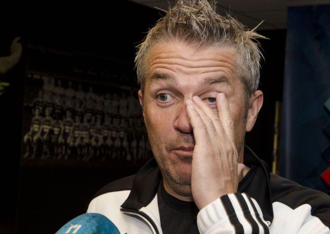 FRYKTLØS: Kåre Ingebrigtsen tror ikke at Molde blir noe sterkere av å få Ole Gunnar Solskjær tilbake på trenerbenken. Her etter Europa League-avansement mot Steaua Bucuresti tidligere i høst.
