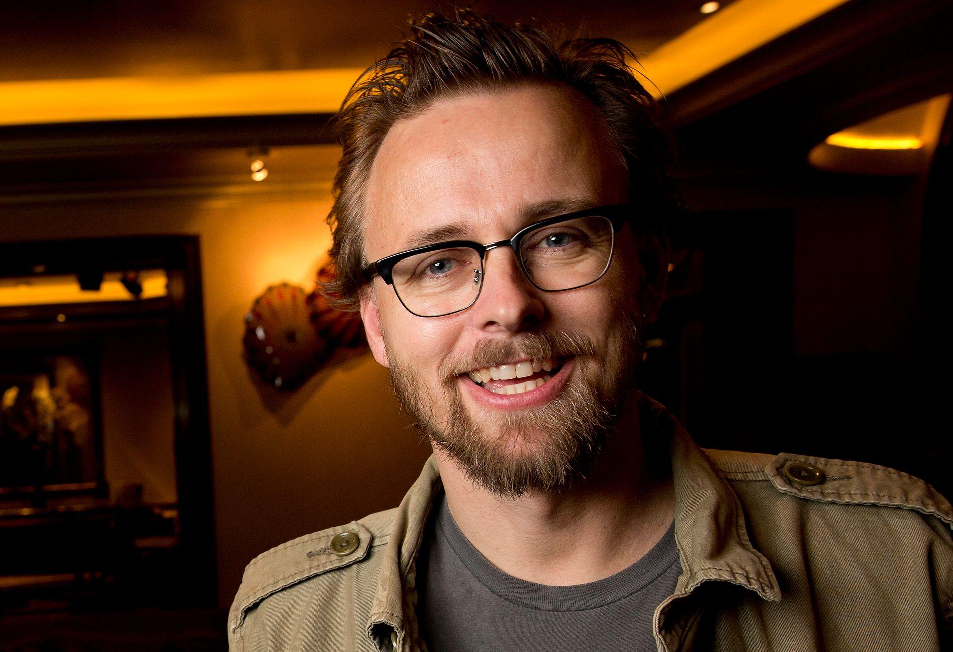 FLERE FILMER FRAMOVER: Joachim Rønning avbildet i Los Angeles i januar 2013, da det ble klart at «Kon-Tiki» var nominert til Beste utenlandske film.