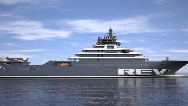 KLART OM TO ÅR: Skipet skal etter planen være klart for sin første tur i 2021.