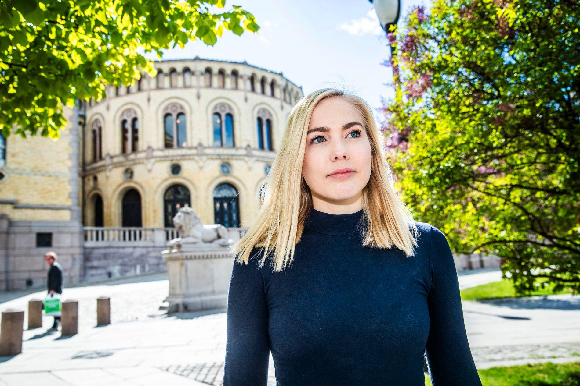 GRUNNLEGGENDE RETT: Mari Holm Lønseth (H) sitter i Kommunal- og forvaltningskomiteen på Stortinget. Hun understreker at retten til å elske den man vil, uavhengig av legning, er grunnleggende for partiet.