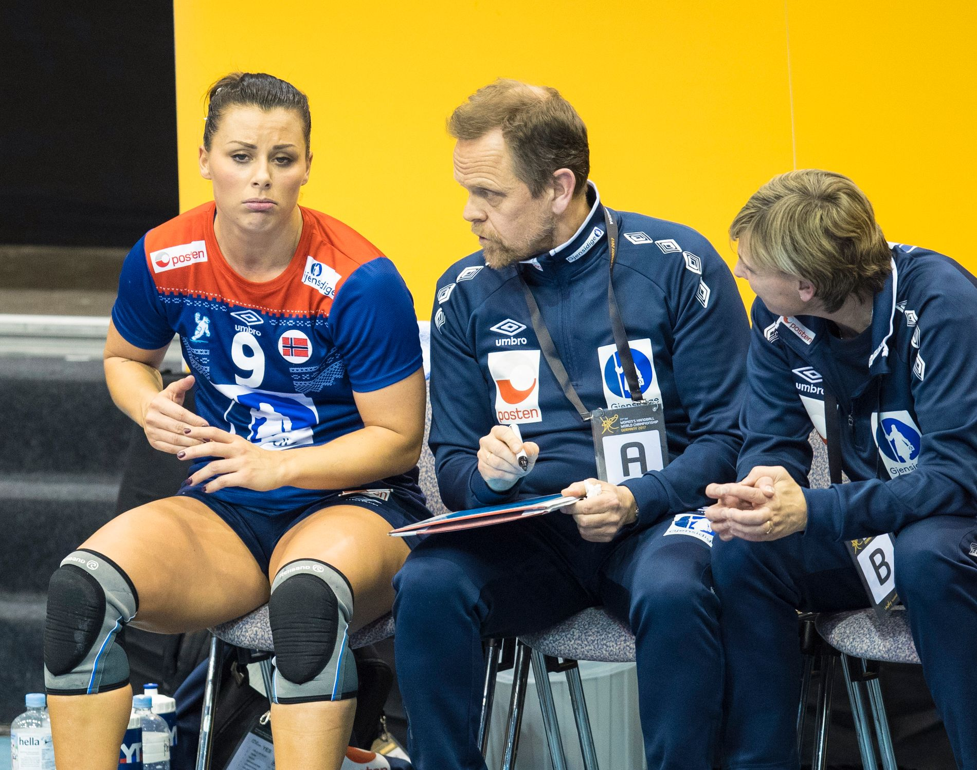VIKTIG FOR LANDSLAGET: Nora Mørk var en viktig spiller for Thorir Hergeirssons landslag i VM før jul.