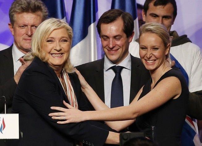 TAKTISK RENVASKING? – Marine Le Pen er en langt mer taktisk partileder enn sin far, Jean-Marie Le Pen. Under hennes ledelse er unge, begavede og velkledde politikere med intellektuell kapasitet i ferd med å ta over partiet. Marines niese, 27-årige Marion Le Pen, er i dag det europeiske ytre-høyres poster girl, skriver Bård Larsen.