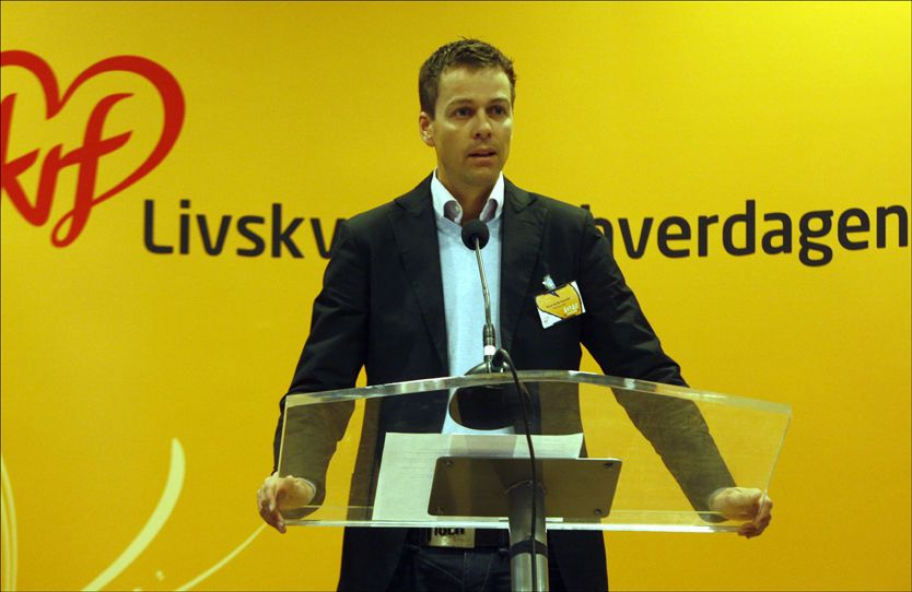 KAN BLI PARTILEDER: Etter å ha tenkt seg nøye om har Knut Arild Hareide takket ja til å stille som lederkandidat i KrF. Foto: Scanpix