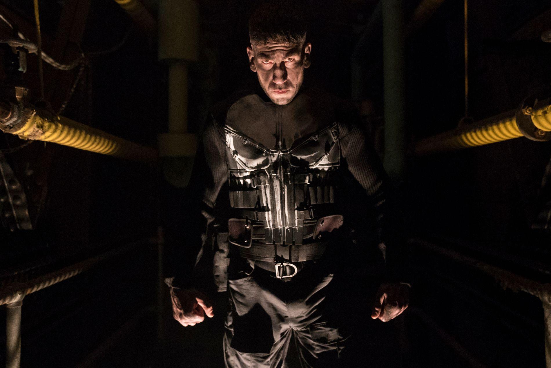 HEVNER: Jon Bernthal som Punisher.