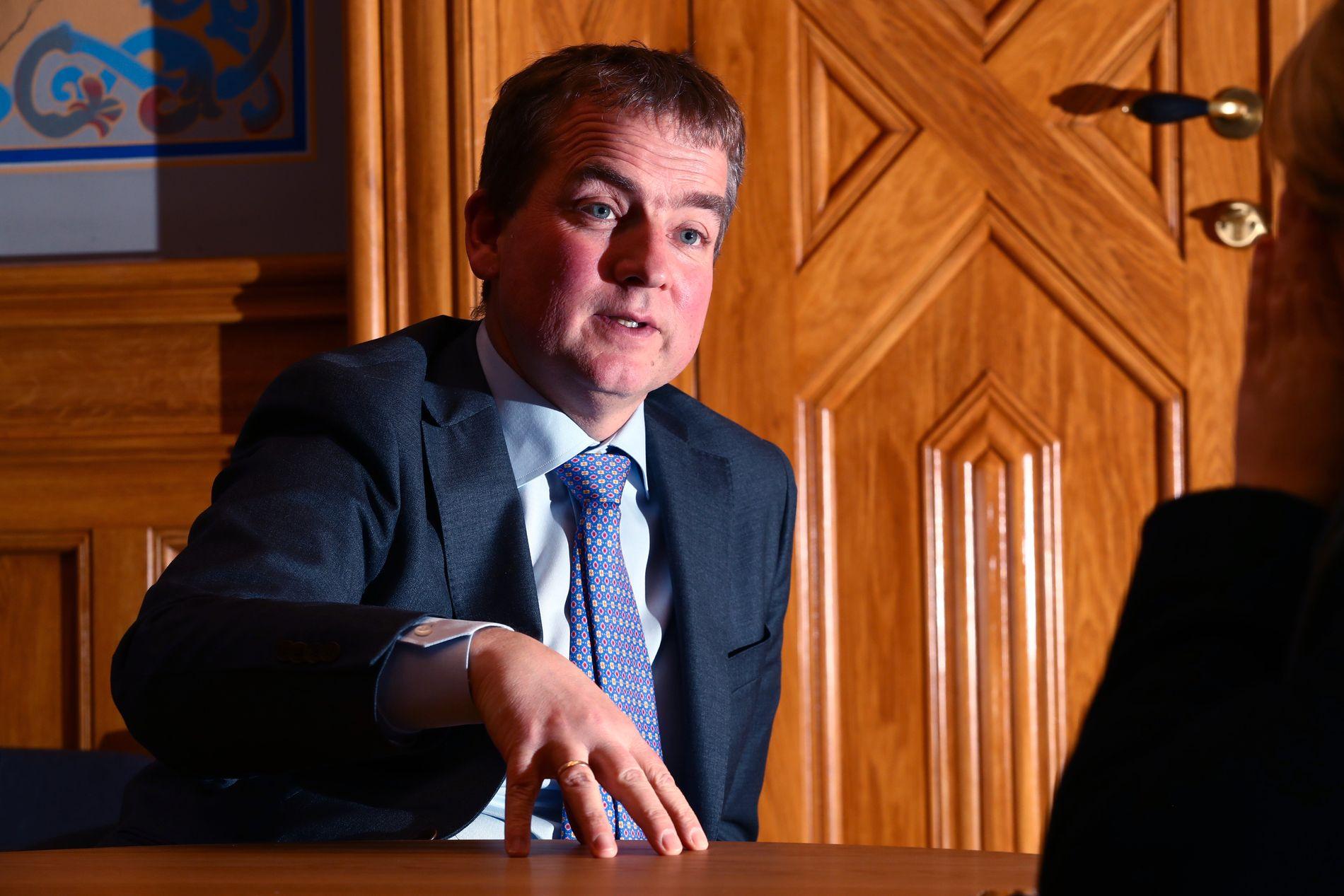 ENGASJERT: Sveinung Stensland vil at regjeringen skal ta et oppgjør mot vaksinemotstand.