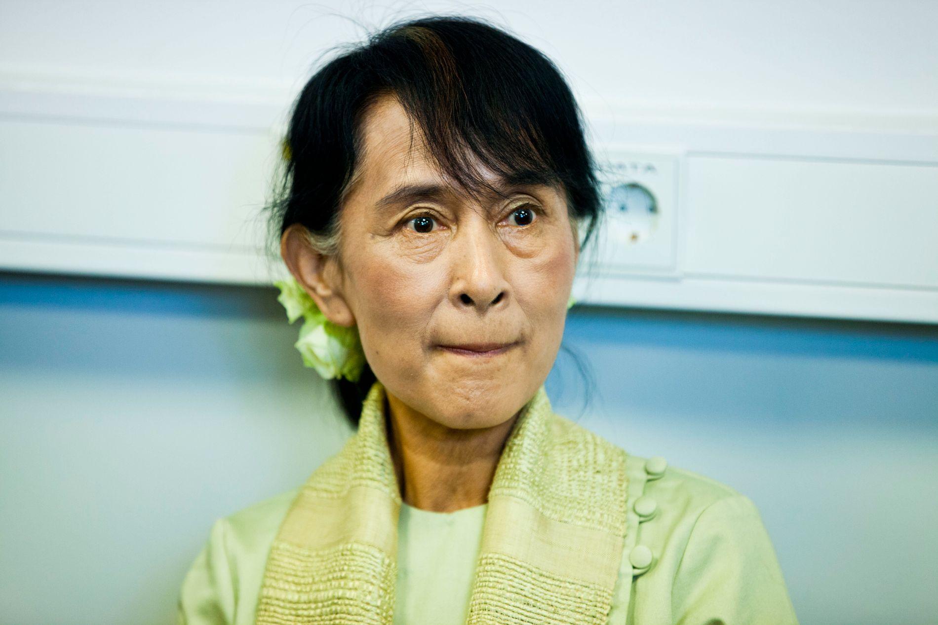 HARD KRITIKK: Myanmars de facto politiske leder, Aung San Suu Kyi, har kommet med få uttalelser i forbindelse med krisen i Rakhine-provinsen. Foto: SARA JOHANNESSEN