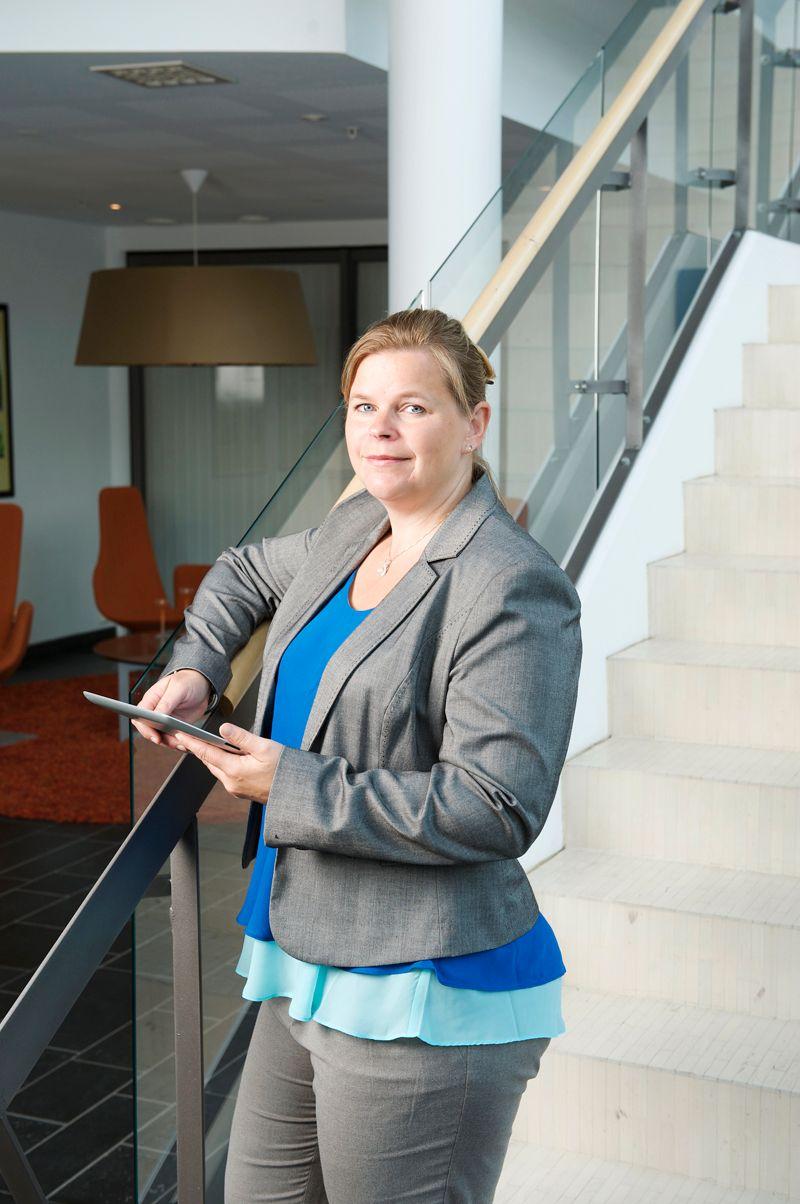 KJENNER TIL PROBLEMET: Administrerende direktør i Norsis, Peggy Sandbekken Heie, forteller at denne typen svindelforsøk kommer i bølger.