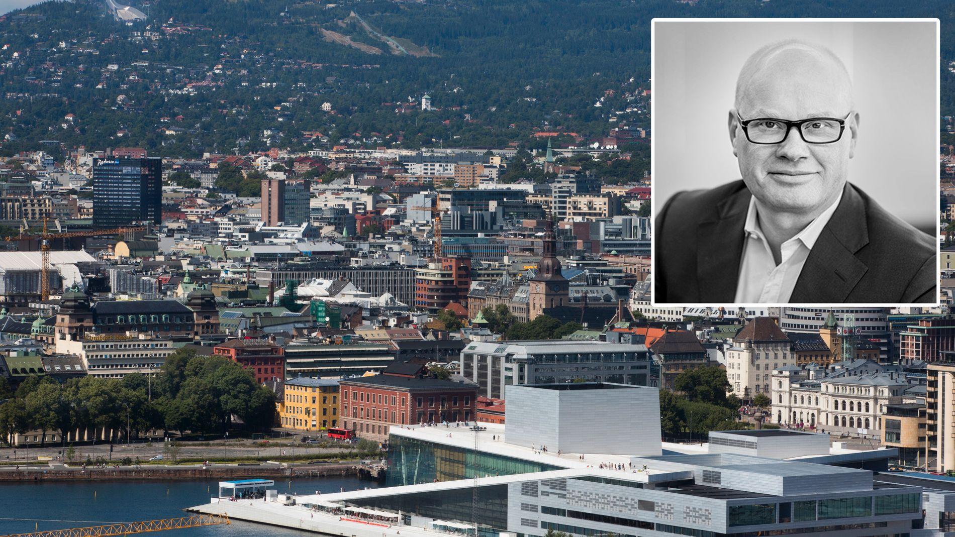 FORBI TOPPEN: Det rekordhøye transaksjonsvolumet på over 120 milliarder kroner kommer ikke tilbake med det første, mener Bård Bjølgerud, administrerende direktør og partner i Pangea Property Partners.