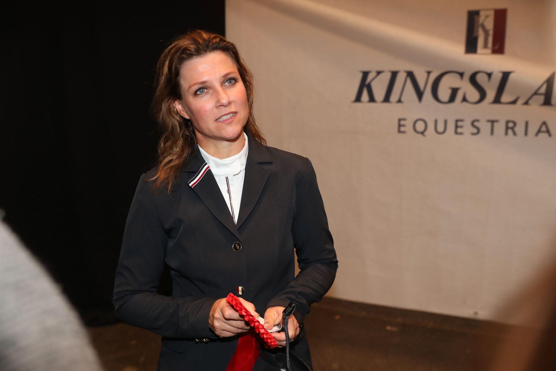 SELGER: Prinsesse Märtha Louise,  her under Kingsland Oslo Horse Show for en tid tilbake.