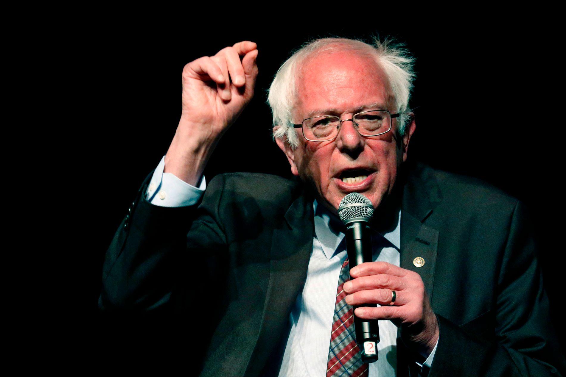 VETERAN: Bernie Sanders vil være 79 ved neste innsettelse av president i USA.