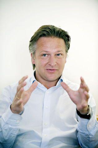 LØNNSVINNER: Claus Sonberg i Zynk er også blant de som tjener mest. Omtrent halvparten er utbytte, forklarer han.