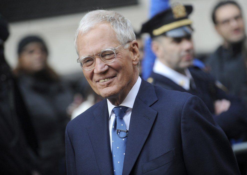 GIR SEG: David Letterman pensjonerer seg i 2015. Foto: wenn.com