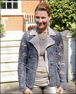 FERSK FLYTTING: Prinsesse Märtha Louise avbildet i London i forrige uke. Foto: FREDRIK SOLSTAD